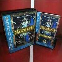 Soleil EU Cover with Box and Manual Sega Megadrive Genesis MD