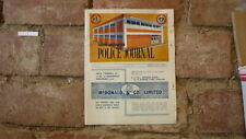 SOUTH AUSTRALIAN POLICE JOURNAL, OFFICIAL ASSOCIATION MAGAZINE, MAR 1963 ISSUE