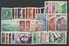 Monaco Année complète 1948 YT 301/323
