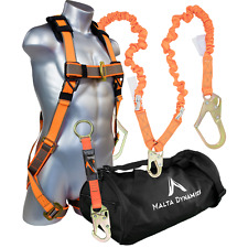 NEW Warthog Pass Thru Safety Harness Fall Protection Kit with 6′ Double Leg