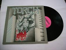 TORCH - FIRERAISER EP - LP TANDAN RECORDS 1982 SWEDEN ULTRARARE