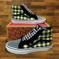 Vans Sk8 Hi Reissue Buffalo Mix Women's Athletic Skate High Top Sneakers Shoes