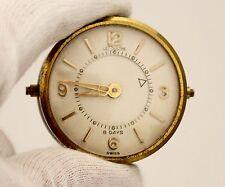 Vintage LeCoultre Memovox 8 Day Brass 35.5mm Alarm Clock