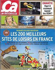 CA M' INTERESSE N° 421--200 MEILLEURS SITES DE LOISIRS EN FRANCE/PUY DU FOU/MARS