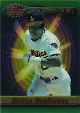 """""""RICKEY HENDERSON"""" - (13) 1994 TOPPS FINEST JUMBO CARDS - AUCTION FOR 13 CARDS"""