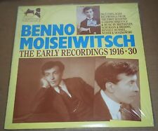 BENNO MOISEIWITSCH The Early Recordings 1936-30 - APR 7003 SEALED