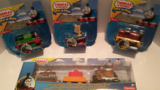 Thomas and Friends Take-n-Play set of 4 Percy,Skiff,Pirate Salty & Porter