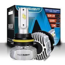 NOVSIGHT 9007 HB5 LED Headlight Dual Hi/Lo Kit Bulbs 10000LM 6500K Super Bright