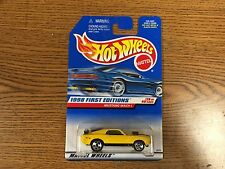 Hot Wheels MUSTANG MACH 1 1998 First Edition 29 of 40 MOPAR MUSCLE Very Nice
