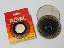 Royal Prestige Cubic 1012 Typewriter Printwheel