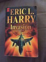 "2002 GERMAN TEXT ""INVASION"" ERIC L HARRY FICTION PAPERBACK BOOK DEUTSCHE BUCH"