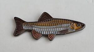 Chub Fishing Quality Enamel Pin Badge