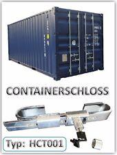 Containerschloss verchromt Lagercontainer Verschluss Containerverrigelung neu