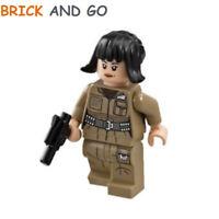LEGO Minifigure Star Wars SW857 Rose Tico + Arme Weapon Gun Blaster NEUF NEW