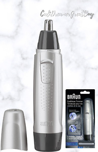 Braun Ear and Nose Hair Trimmer with 1 AA Battery