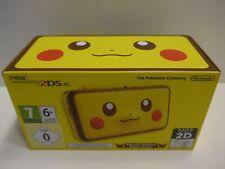 New Nintendo 2DS XL Pokemon PIKACHU Edition NEU & OVP Original Selten Rarität