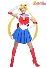 WOMEN'S SAILOR MOON ANIME COSPLAY COSTUME SIZE XS M L XL (with defect)
