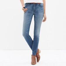 Madewell Size 27 High Riser Skinny Denim Jeans in Thom Wash Womens Blue