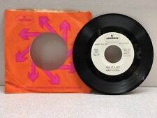 BOBBY VALERIO 45 RADIO PROMO Statue Of A Fool / Soul Of A Man WHITE LABEL..