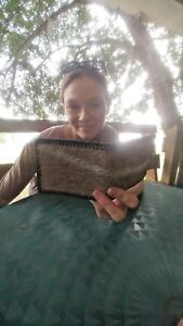 NEW Authentic ANTELOPE SKIN Wallet bi Fold Men Billfold Original Slim Pocket