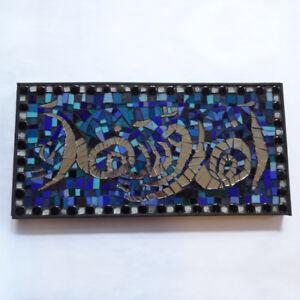 ahlan was-a-h-lan  - welcome in arabic - wall mosaic art