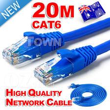 High Quality 20M RJ45 CAT6e CAT6 Ethernet LAN Network Cable 100M/1000Mbps