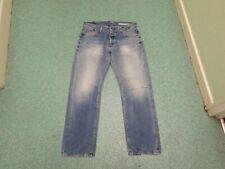 "Tommy Hilfiger Rogar Dev Dedham Vintage Waist 34"" Leg 32"" Medium Blue Mens Jeans"