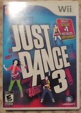 Nintendo Wii Just Dance 3 (Manual, box and game)