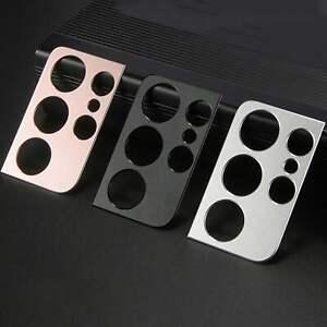 For Samsung S21 S21 Plus S21 Ultra Phone Camera Lens Protector Metal Slim Film
