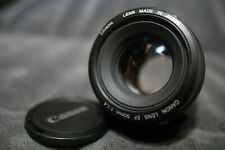 Canon EF 50mm f/1.4 USM - Used,  Clean