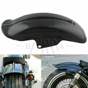 Rear Black Mudguard Fender For Harley Sportster 883 Bobber Chopper Cafe Racer