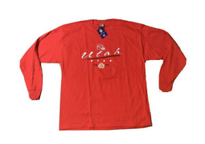 Utah Utes Football 2005 Fiesta Bowl Long Sleeve T Shirt Size XL NWT