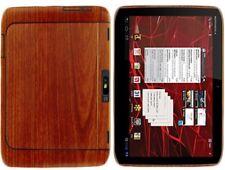 Skinomi Light Wood Tablet Skin+Screen Protector for Motorola DROID XYBOARD 10.1