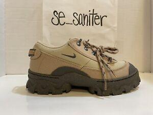 Nike W Lahar Low Canvas Hemp/Smoke-Grain Sneakers DD0060 200 Women's Size 9