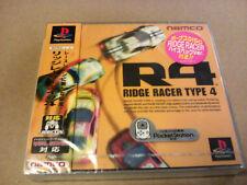 Videogame RIDGE RACER TYPE 4 NTSC-J Playstation 1 PSX PS1 PSONE Neu & SEALED