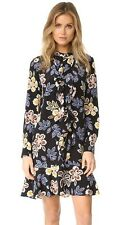 Tory Burch Jane Dress 2 Floral Pretty XS Silk 2016