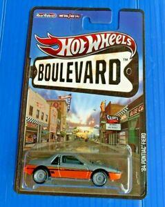2012 Hot Wheels Boulevard '84 Pontiac Fiero FREE Protector