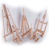Selection of Wooden Easel Stands/ Mini Table Desktop Art Wedding Photo Display