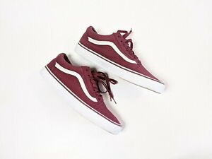 Vans Shoes Burgundy 721278 Old Skool Size 10.5