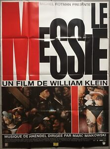 Poster The Messiah Tattoo William Klein 47 3/16x63in