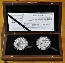 2008 -PALAU 400th anniversery Telescope Commemorative Two (2) coin Set