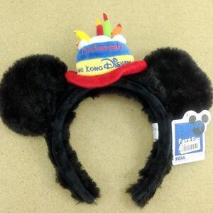Disney Mickey Minnie Black Ear Headband Hong Kong Anniversary Cosplay Party