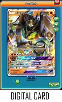 Pokemon TCGO ONLINE Zygarde GX 73/131 (DIGITAL CARD) Forbidden Light Full Art