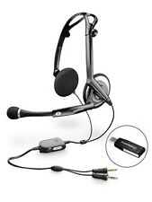New Plantronics DSP-400 Digitally-Enhanced USB Foldable Stereo Headset