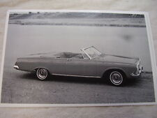 1963 DODGE POLARA CONVERTIBLE    11 X 17  PHOTO  PICTURE   #2