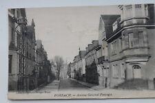 29475 CPA Forbach Avenue General Passaga AK Lothringen 1930