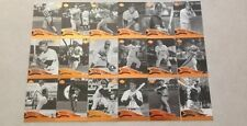2005 Sweet Spot Classic Complete Base 100-Card Set Babe Ruth Mickey Mantle New