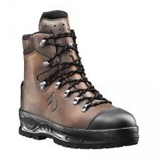 Haix Trekker Mountain Schnittschutzschuhe Stiefel braun KWF Gr. 45 NEU S3