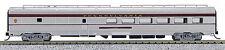 N Budd Passenger Dining Car Pennsylvania (Silver/Maroon) (1-041453)