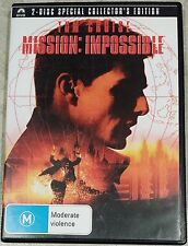 Mission: Impossible - 2 Disc Special Edition (Tom Cruise) DVD GREAT cond. (R4)